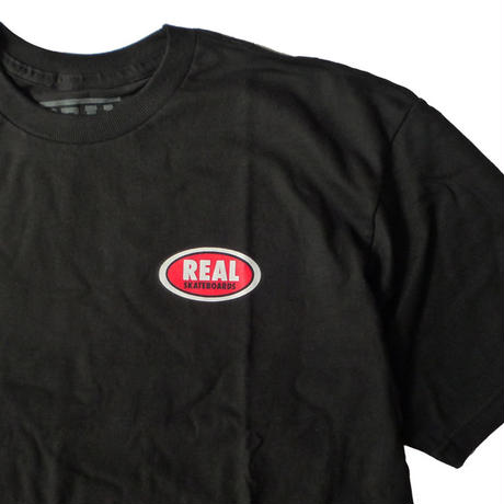 REAL STOCK OVAL TEE