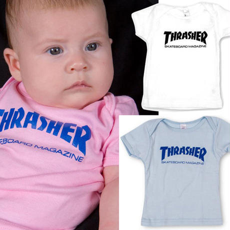 THRASHER  SKATE MAG  INFANT TEE