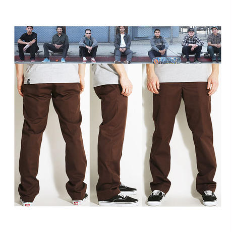 DICKIES SKATE DICKIES'67 SLIM STRAIGHT INDUSTRIAL WORK PANTS