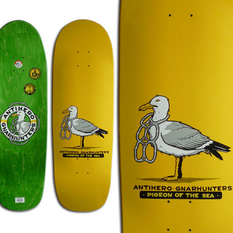 ANTI HERO x GNARHUNTERS DRIFTWOOD BEACH BUM SHAPE DECK (9.55 x 30.44inch)