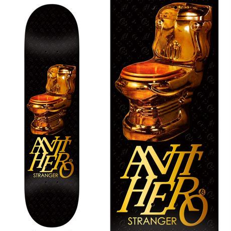 ANTI HERO JULIEN STRANGER GOLD COMMODE DECK  (8.18 x 31.85inch)