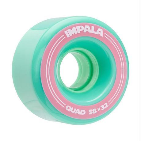 4 Pack Wheels - Aqua