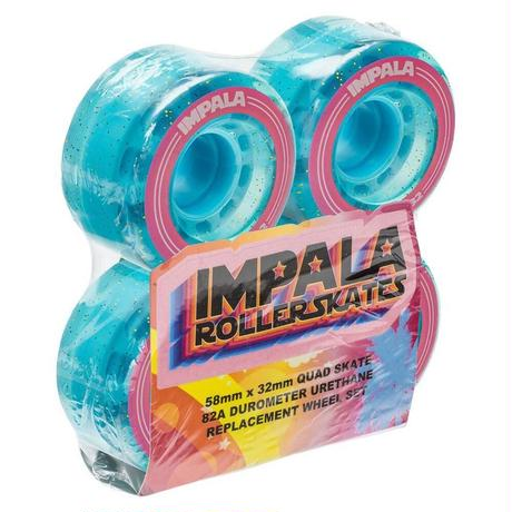 4 Pack Wheels - Holographic Glitter