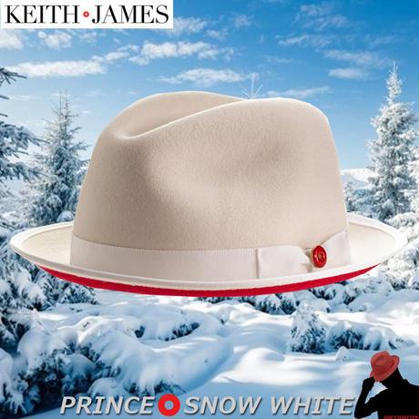 キースアンドジェームズ★Keith & James PRINCE 【Snow White】 Large with Travel Kit(Hat Box)