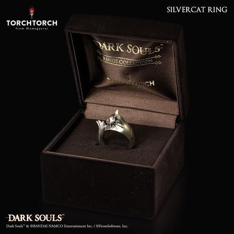 DARK SOULS x TORCH TORCH/ Silvercat Ring