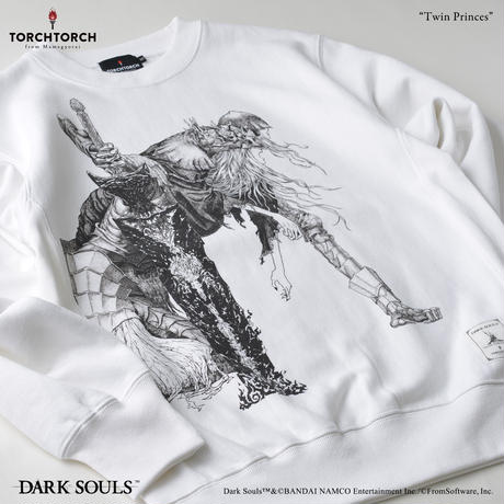 Twin Princes Sweat Shirt/ DARK SOULS × TORCH TORCH Sweat Shirt