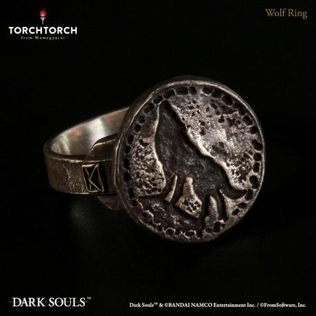 DARK SOULS x TORCH TORCH/ Wolf Ring