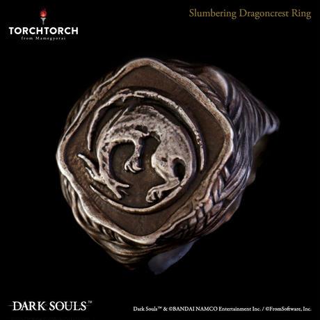 DARK SOULS x TORCH TORCH/The Slumbering Dragoncrest Ring