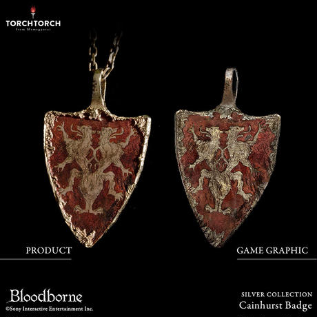 Bloodborne × TORCH TORCH SILVER COLLECTION/ Cainhurst Badge