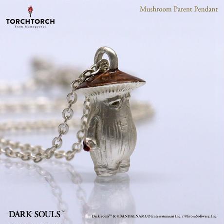 DARK SOULS x TORCH TORCH/ Mushroom Parent Pendant