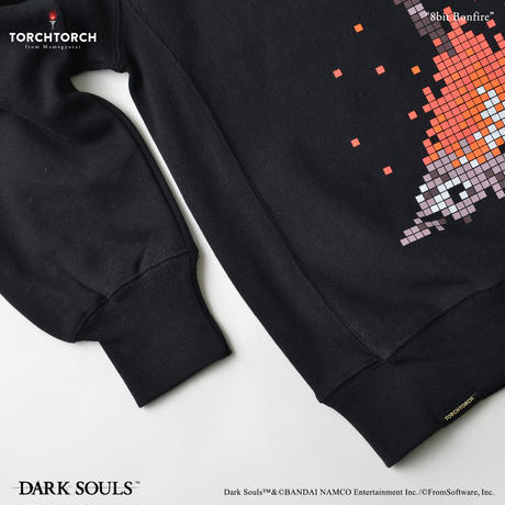 8bit Bonfire Sweat Shirt/ DARK SOULS × TORCH TORCH Sweat Shirt