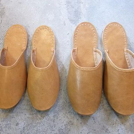 Buffalo Leather Slippers / ladys