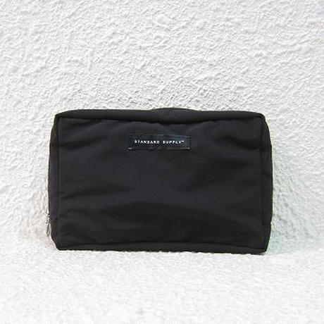 STANDARD SUPPLY / スタンダードサプライ / SQUARE POUCH - L / BLACK