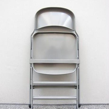 CLARIN /クラリン / ALL STEEL FOLDING CHAIR / gray