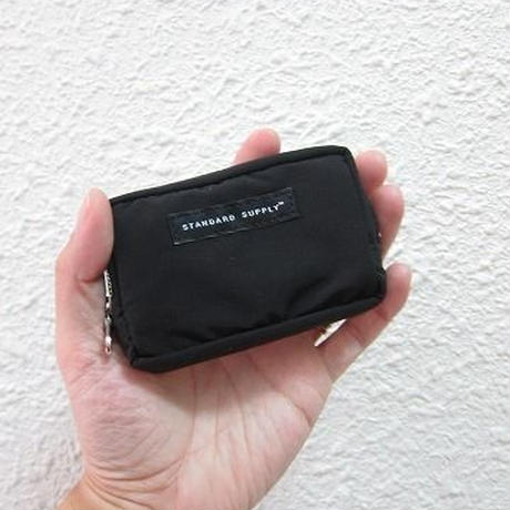 STANDARD SUPPLY / スタンダードサプライ /  SQUARE POUCH - S / BLACK