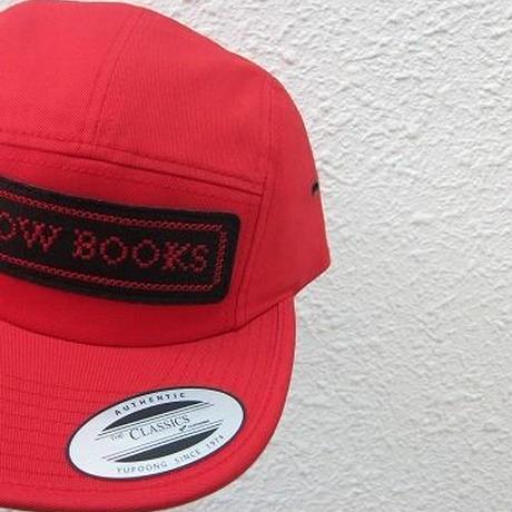 COW BOOKS / Logo Cap / Red×Black