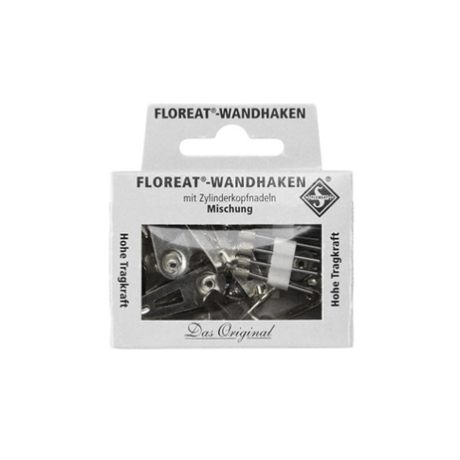 Floreat Wall Hooks / Nickel