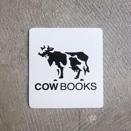 COW BOOKS / Magnet sheet / WHITE