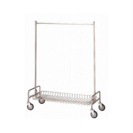 R&B WIRE PRODUCTS / GARMENT RACK WITH SHELF