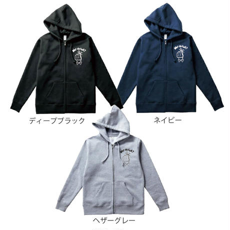 What the fuck zip parka 3colors