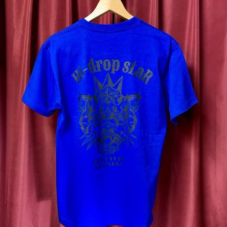 Panther T-shirt/Blue〈中須賀克行選手ヘルメットデザイン〉