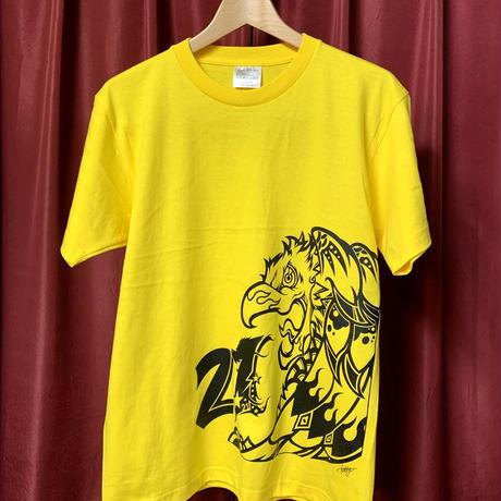 鳳凰T-shirt/Yellow〈中須賀克行選手ヘルメットデザイン〉