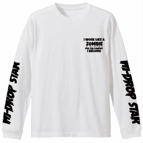 zombie cat long sleeve T-shirt 3colors