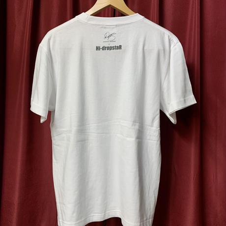 鳳凰T-shirt/White〈中須賀克行選手ヘルメットデザイン〉