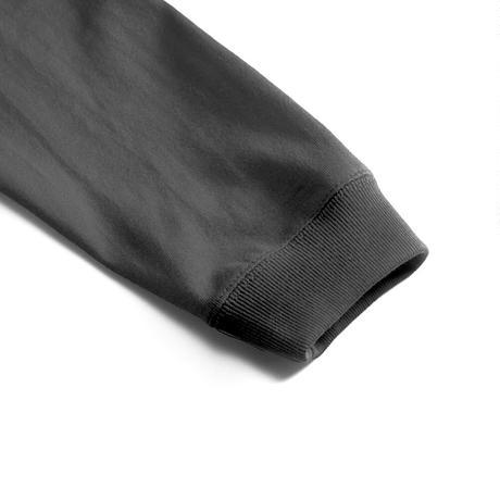 八咫烏 long sleeve T-shirt(A) White/Black
