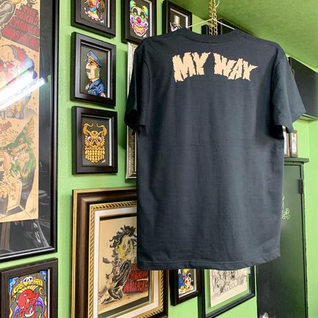 My way T-shirt  Black