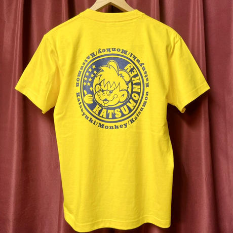 2nd KATSUMON T-shirt/yellow