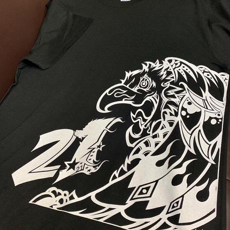 鳳凰T-shirt/Black〈中須賀克行選手ヘルメットデザイン〉