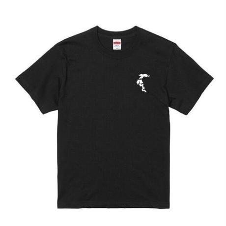八咫烏 T-shirt(B) White/Black