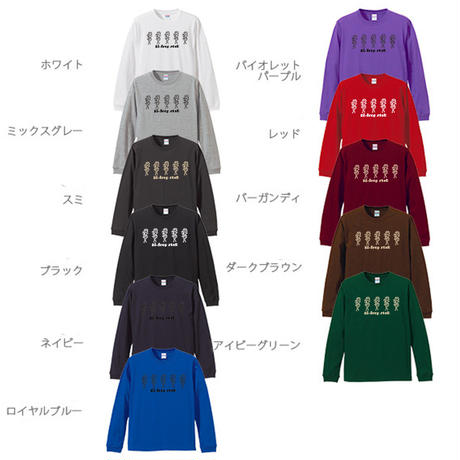 manipulative  long sleeve T-shirt  11colors