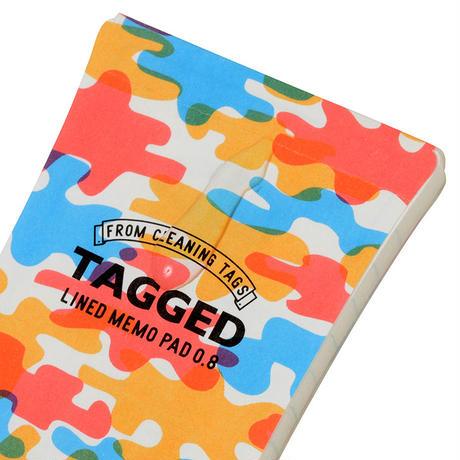 TAGGED MEMO PAD 迷彩05(L)
