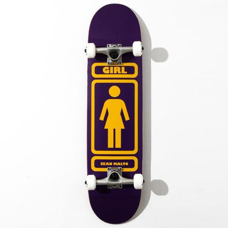 GIRL コンプリートデッキ 93TIL SM 8インチ パープル