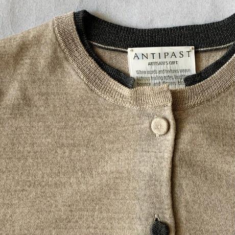 ANTIPAST woolKnitCardigan