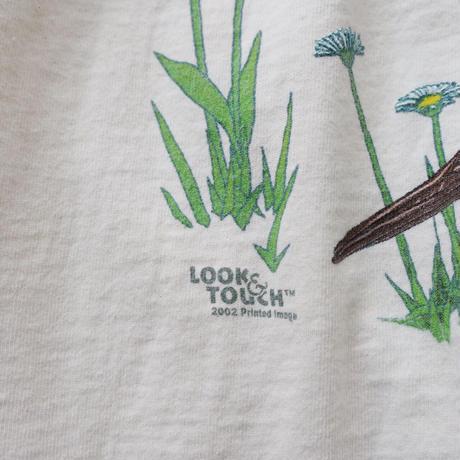 various free as a bird print  T-shirt/unisex