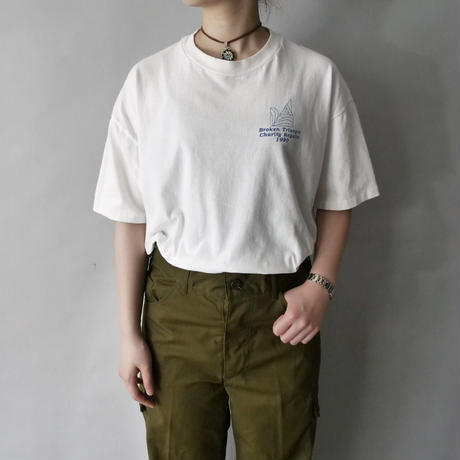 90s sailboat t-shirt/unisex