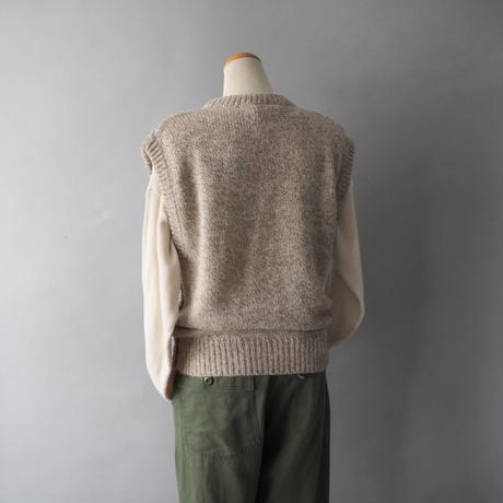 knit vest/for ladies'