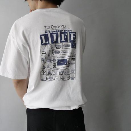 80s〜 print t-shirt/unisex