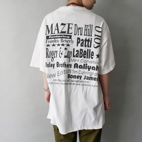 90s cincinnati jazz festival t-shirt/unisex