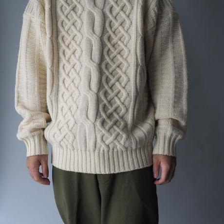 vintage Ireland alan knit/unisex