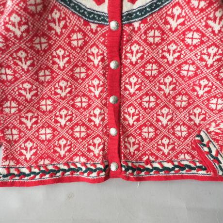 folklore Tyrolean knit cardigan/ladies'
