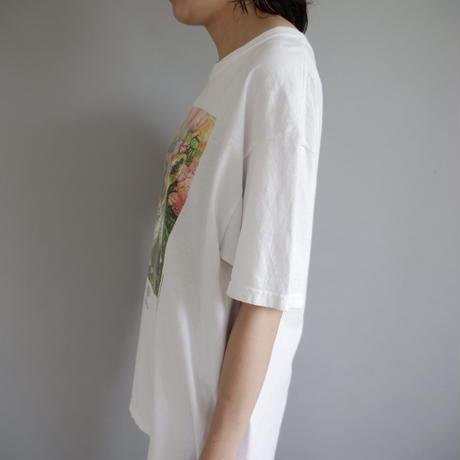 fox print T-shirt/unisex