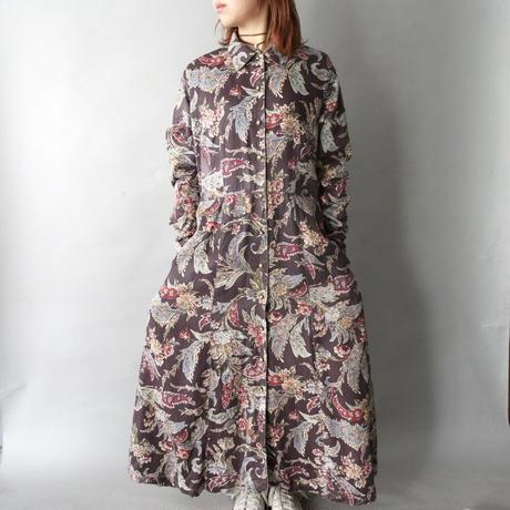 botanical total pattern dress