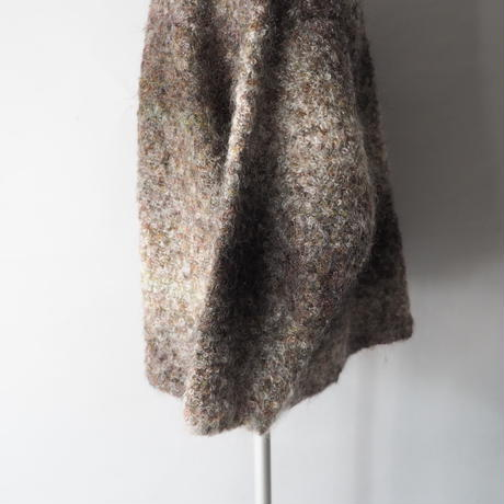 mohair shadow colors are mixed cardigan/unisex