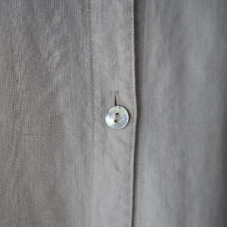 100% linen summer gown⇄dress