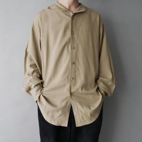 men's 100% silk loose shirt