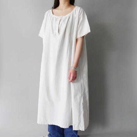 vintage French 50s-60s cotton night dress